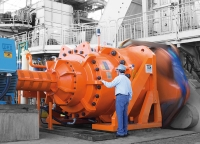 The largest planetary gearbox of the sugar-power industry in the world starts operating